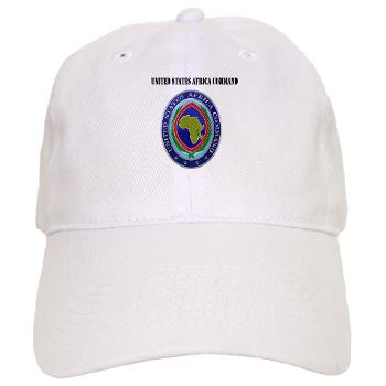 AFRICOM - A01 - 01 - United States Africa Command with Text - Cap