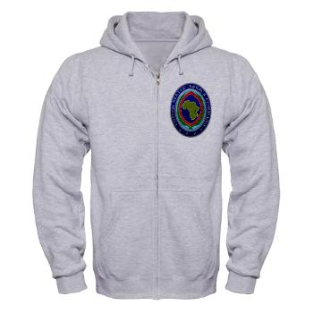 AFRICOM - A01 - 03 - United States Africa Command - Zip Hoodie