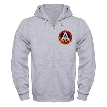 USARCENT - A01 - 03 - U.S. Army Central (USARCENT) - Zip Hoodie