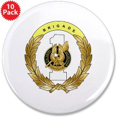 "USAREC1RB - M01 - 01 - 1st Recruiting Brigade 3.5"" Button (10 pack)"