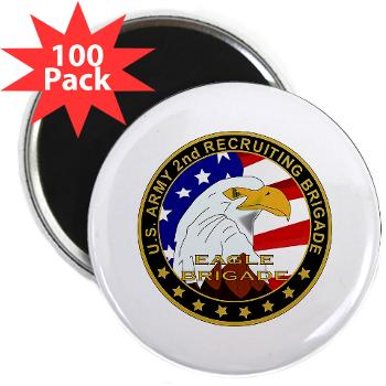 "USAREC2RB - M01 - 01 - 2nd Recruiting Brigade 2.25"" Magnet (100 pack)"
