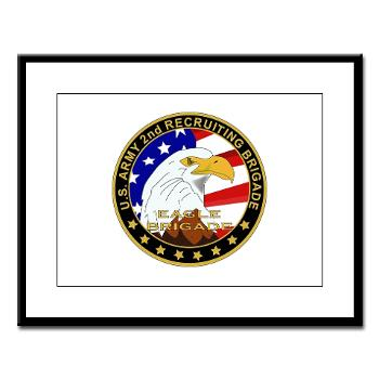 USAREC2RB - M01 - 02 - 2nd Recruiting Brigade Large Framed Print