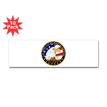 USAREC2RB - M01 - 01 - 2nd Recruiting Brigade Sticker (Bumper 10pk)