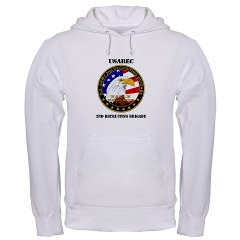 USAREC2RB - A01 - 03 - 2nd Recruiting Brigade with Text Hooded Sweatshirt