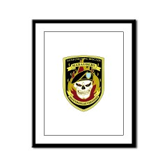 USAREC3RB - M01 - 02 - 3rd Recruiting Brigade Framed Panel Print