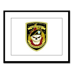 USAREC3RB - M01 - 02 - 3rd Recruiting Brigade Large Framed Print