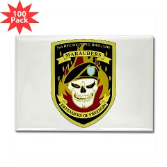 USAREC3RB - M01 - 01 - 3rd Recruiting Brigade Rectangle Magnet (100 pack)