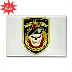 USAREC3RB - M01 - 01 - 3rd Recruiting Brigade Rectangle Magnet (10 pack)