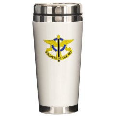 USAREC5RB - M01 - 03 - 5th Recruiting Brigade Ceramic Travel Mug