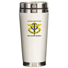 USAREC5RB - M01 - 03 - 5th Recruiting Brigade with Text Ceramic Travel Mug