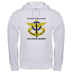 USAREC5RB - A01 - 03 - 5th Recruiting Brigade with Text Hooded Sweatshirt