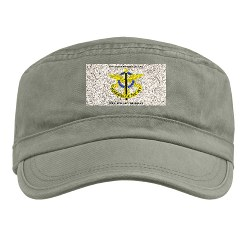 USAREC5RB - A01 - 01 - 5th Recruiting Brigade with Text Military Cap