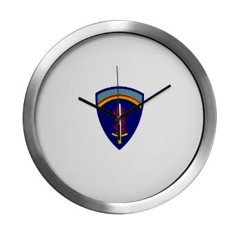 USAREUR - M01 - 03 - U.S. Army Europe (USAREUR) - Modern Wall Clock