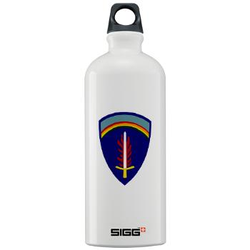 USAREUR - M01 - 03 - U.S. Army Europe (USAREUR) - Sigg Water Bottle 1.0L