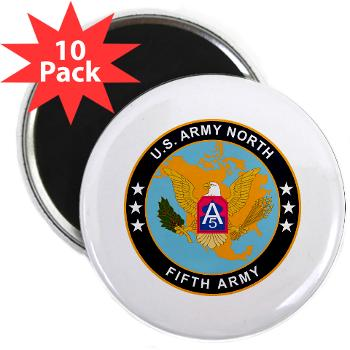 "USARNORTH - M01 - 01 - U.S. Army North (USARNORTH) - 2.25"" Magnet (10 pack)"