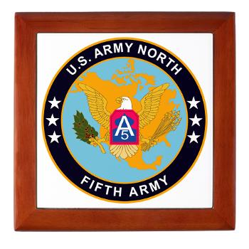 USARNORTH - M01 - 03 - U.S. Army North (USARNORTH) - Keepsake Box