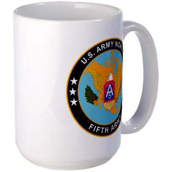 USARNORTH - M01 - 03 - U.S. Army North (USARNORTH) - Large Mug