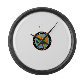 USARNORTH - M01 - 03 - U.S. Army North (USARNORTH) - Large Wall Clock