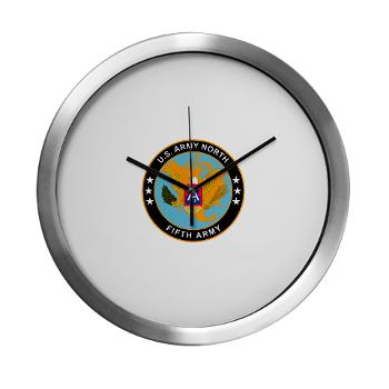 USARNORTH - M01 - 03 - U.S. Army North (USARNORTH) - Modern Wall Clock