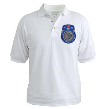 USASAC - A01 - 04 - U.S. Army Security Assistance Command - Golf Shirt