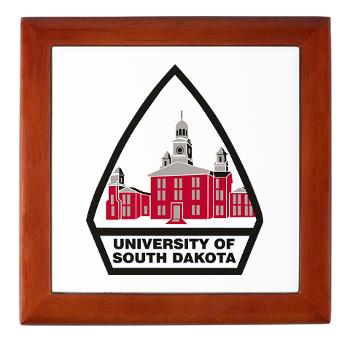 USD - M01 - 03 - SSI - ROTC - University of South Dakota - Keepsake Box