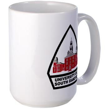 USD - M01 - 03 - SSI - ROTC - University of South Dakota - Large Mug