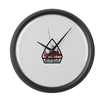 USD - M01 - 03 - SSI - ROTC - University of South Dakota - Large Wall Clock