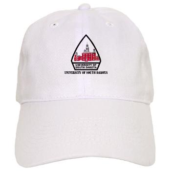 USD - A01 - 01 - SSI - ROTC - University of South Dakota with Text - Cap