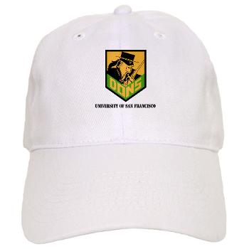 USF - A01 - 01 - SSI - ROTC - University of San Francisco with Text - Cap