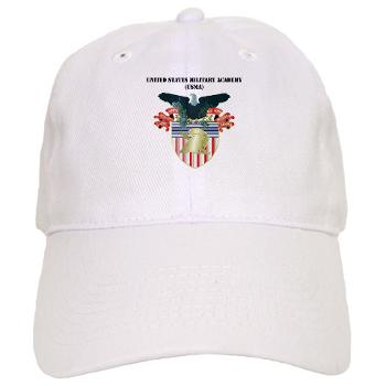 USMA - A01 - 01 - United States Military Academy (USMA) with Text - Cap