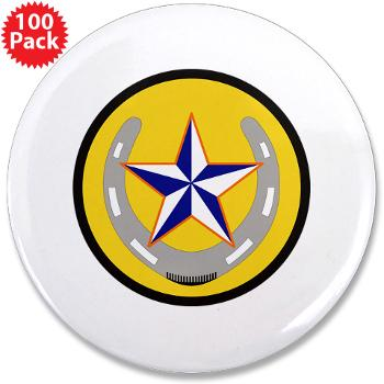 "UTA - M01 - 01 - SSI - ROTC - University of Texas at Arlington - 3.5"" Button (100 pack)"