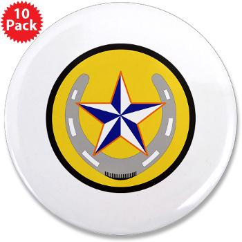"UTA - M01 - 01 - SSI - ROTC - University of Texas at Arlington - 3.5"" Button (10 pack)"