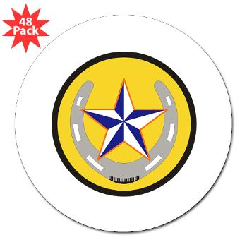 "UTA - M01 - 01 - SSI - ROTC - University of Texas at Arlington - 3"" Lapel Sticker (48 pk)"
