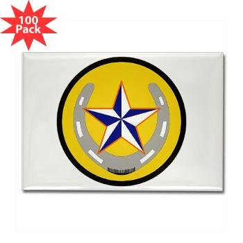 UTA - M01 - 01 - SSI - ROTC - University of Texas at Arlington - Rectangle Magnet (100 pack)