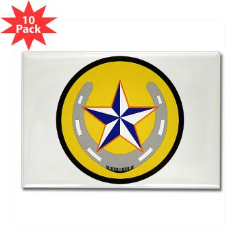 UTA - M01 - 01 - SSI - ROTC - University of Texas at Arlington - Rectangle Magnet (10 pack)