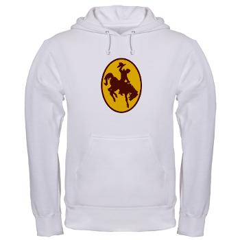 UW - A01 - 03 - SSI - ROTC - University of Wyoming - Hooded Sweatshirt