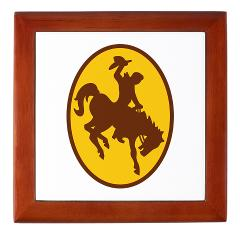 UW - M01 - 03 - SSI - ROTC - University of Wyoming - Keepsake Box