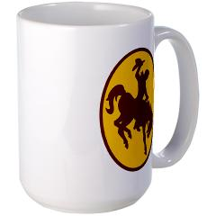 UW - M01 - 03 - SSI - ROTC - University of Wyoming - Large Mug
