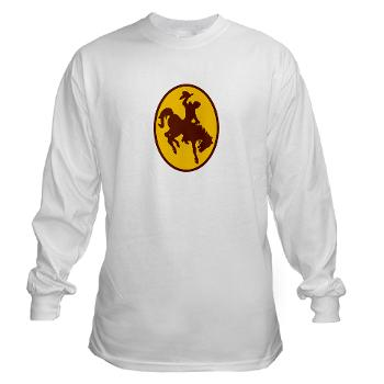 UW - A01 - 03 - SSI - ROTC - University of Wyoming - Long Sleeve T-Shirt