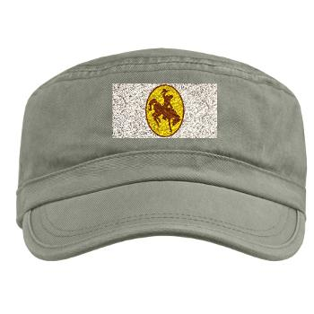 UW - A01 - 01 - SSI - ROTC - University of Wyoming - Military Cap