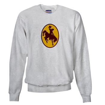 UW - A01 - 03 - SSI - ROTC - University of Wyoming - Sweatshirt