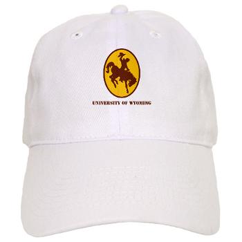 UW - A01 - 01 - SSI - ROTC - University of Wyoming with Text - Cap