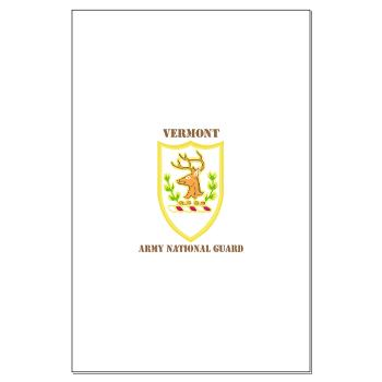 VARNG - M01 - 02 - DUI - Vermont Army National Guard with Text - Large Poster
