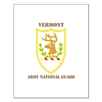VARNG - M01 - 02 - DUI - Vermont Army National Guard with Text - Small Poster