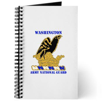 WAARNG - M01 - 02 - DUI - Washington Army National Guard with Text - Journal
