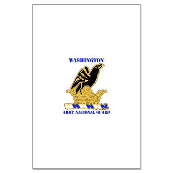 WAARNG - M01 - 02 - DUI - Washington Army National Guard with Text - Large Poster