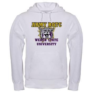 WSUROTC - A01 - 03 - Weber State University - ROTC - Hooded Sweatshirt