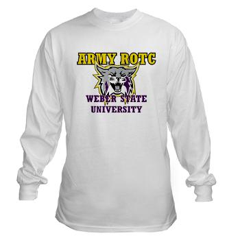 WSUROTC - A01 - 03 - Weber State University - ROTC - Long Sleeve T-Shirt