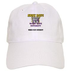 WSUROTC - A01 - 01 - Weber State University - ROTC with Text - Cap