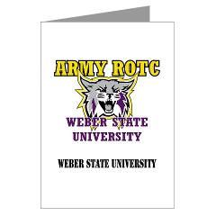 WSUROTC - M01 - 02 - Weber State University - ROTC with Text - Greeting Cardrds (Pk of 20)